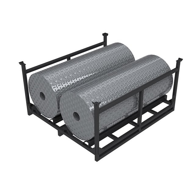 Auto industry collapsible storagestacking truck metal tire rack