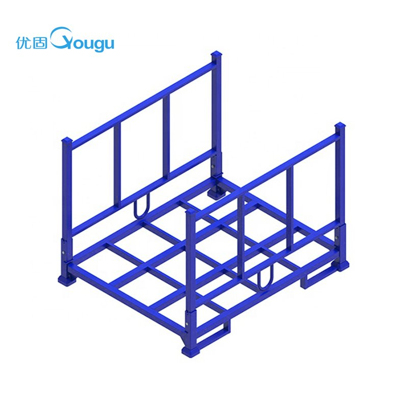 Fabric cloth printing and dyeing roll container cage