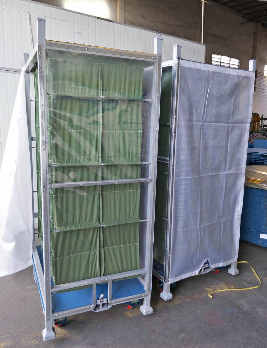 Storage Cart trolley for Auto Parts Industry