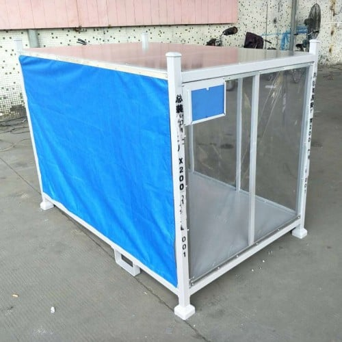 Portable Logistic Auto Parts Pallet Cargo Storage Roll Container
