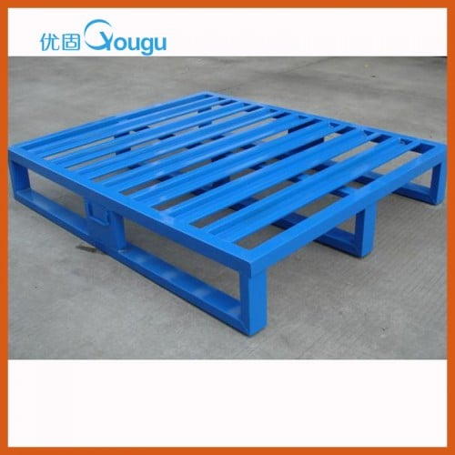 logistic steel pallet for warehouse metal storage pallets
