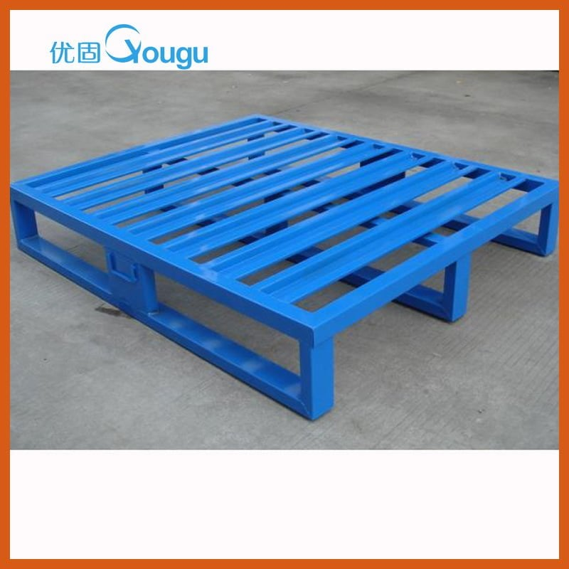 logistic steel pallet for warehouse metal storage pallets