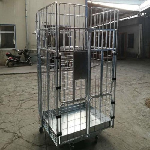 warehouse cage trolley box trolley picking trolley
