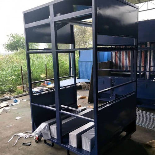 customized auto part trolley for Volkswagen heavy duty