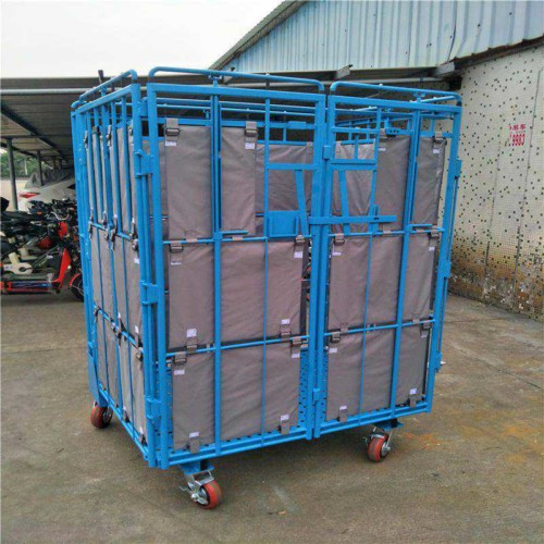 Roll containers handling industrial trolley for sale