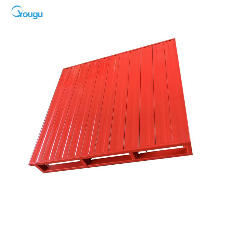 Heavy duty storage metal pallet supplier metal stacking pallets